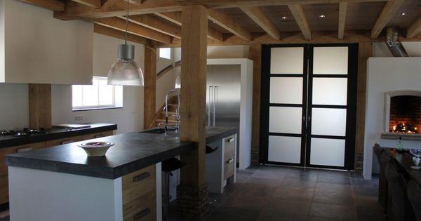 Houten keukens van koak design keuken pinterest concrete kitchens and kitchen decor - Decoratie design keuken ...