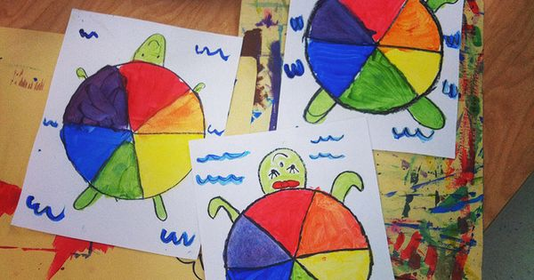 Teach and Shoot: Elementary Art Unit: Color Theory : Color Wheel