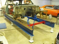 Nice Simple Frame Bench Jig Car Frames Chassis Fabrication Metal Fabrication Tools