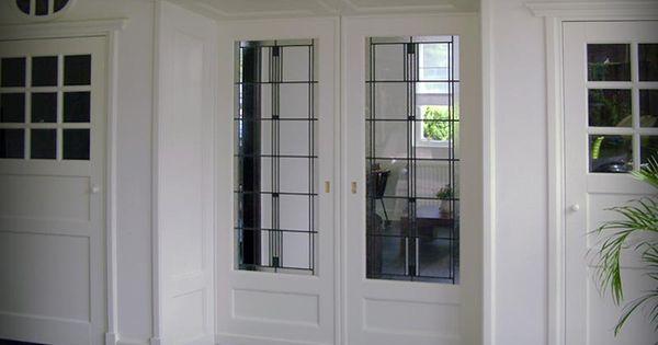 Kamer maken opmaat glas in lood mb marcel bruins hang en sluitwerk ensuite glas in - Deco kamer bruin ...