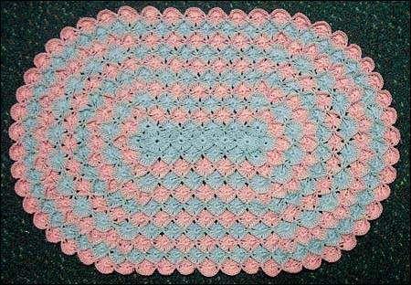 Oval Crochet Patterns Easy Crochet Patterns Crochet Placemats Crochet Patterns Crochet Table Mat