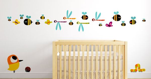 Vinilos decorativos para la habitacion del bebe para m s - Vinilos para habitacion de bebes ...