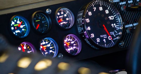 Old gas station collectibles primarily petroliana a collector s - Nice Pic From Instrument Panel Nascar Pinterest