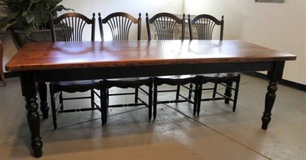 Very Rustic Reclaimed Dining Table Reclaimed Dining Table Dining Table Farmhouse Dining Table