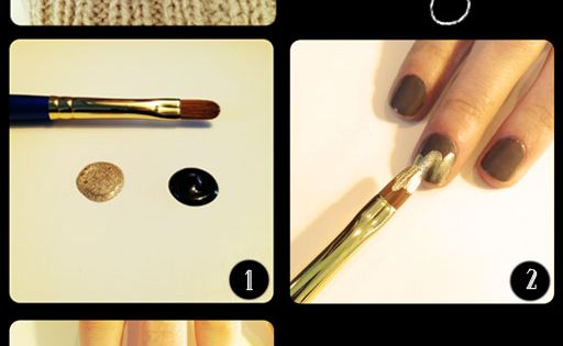 Art deco nail tutorial