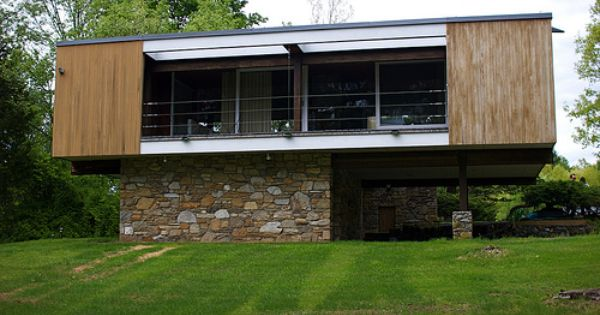 Marcel Breuer S Wolfson Trailer House With Images Trailer Home