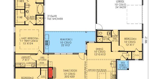 Plan 56338sm Louisiana Charm House Plans French