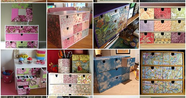 1. IKEA drawers, 2. Enfim, pronta!!!, 3. My sewing & crafting studio,