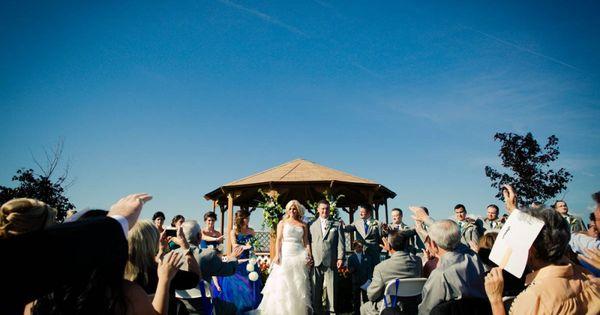 Ceremony Reception Following: MacRay Harbor Wedding Ceremony @ Belle Maer Marina