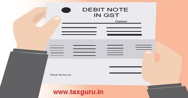 Debit Note in GST - All You want to Know - http\/\/taxguruin\/goods - debit note template