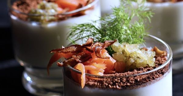 Panna cotta, Smoked salmon and Fennel on Pinterest