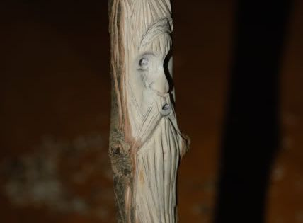 Tutorial about carving wood spirit http