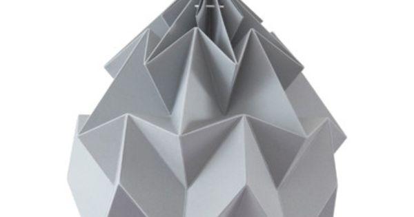 Designlines Newcomer Origami Lampshade Studio Snowpuppe Designlines De Origami Lampe Origami Lampenschirm Luftballon Lampe