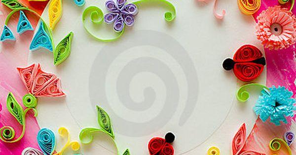 ... モノづくり ⃛ | Pinterest | Quilling, Greeting Card and Quill