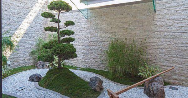Jardin minimaliste avec d coration zen jardinage for Jardinage decoration jardin