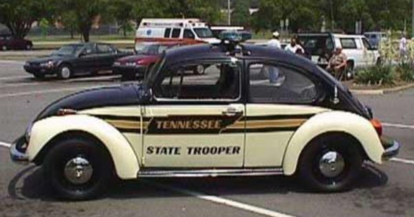 Tennessee State Trooper Vw Beetle Old Police Cars Police Cars