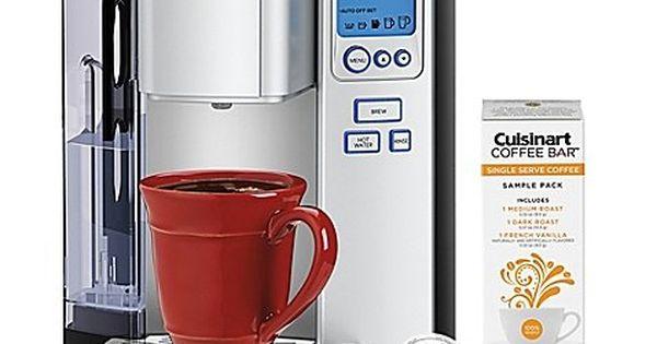 Cuisinart Premium Single Serve Brewer Cuisinart Coffee Maker Single Serve Coffee Makers Single Serve Coffee