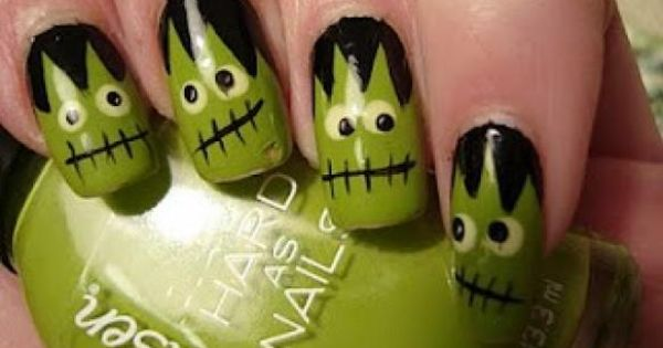 Unique Creative Halloween Nails ♥ Halloween Nail Art / Design ...
