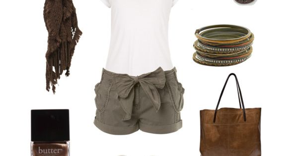 Bow Shorts Outfit