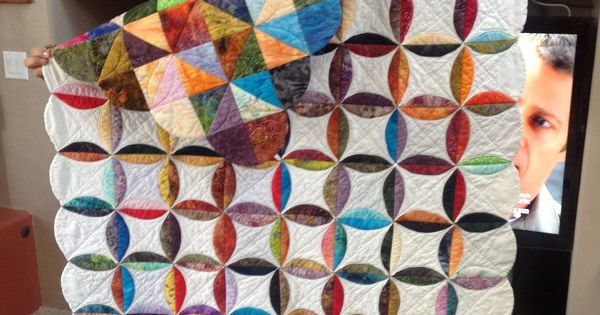 Quilt As You Go Scrappy Quilting Pinterest Circles