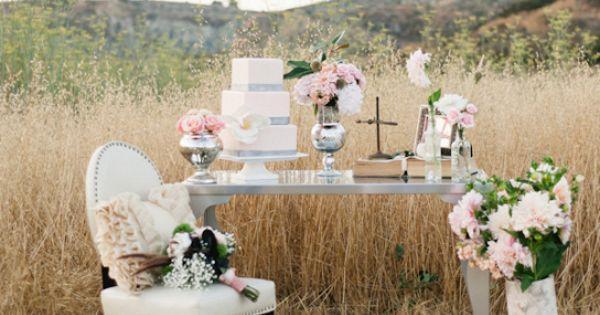celebratekat shabby chic wedding decor