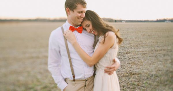 Kristin Partin Photography // Valentines Engagement Session // Lindsey... LOVE the cute lil red bow tie!