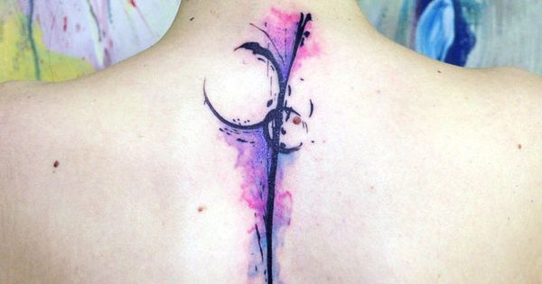 water color abstract 2 by ~koraykaragozler I love this watercolor tattoo idea