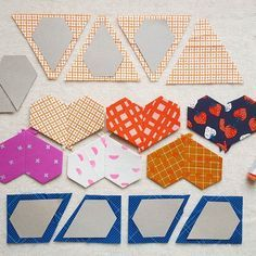 Jewel Template for cutting and patchwork