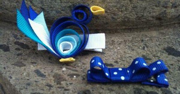 Tweet Tweet Bird Ribbon Sculpture Set 5 50 Via Etsy