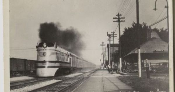 Vintage Tomah Wisconsin Railroad Depot Hiawatha