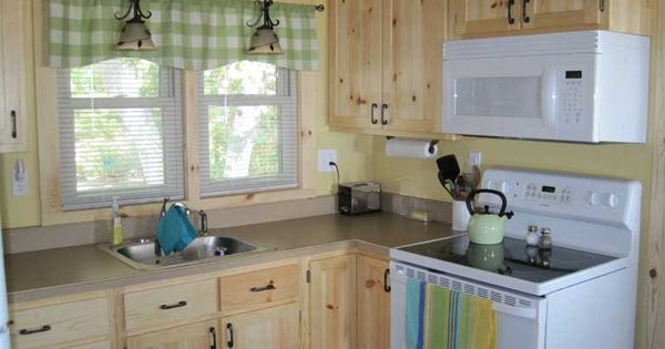 Knotty pine kitchen cabinets kitchen pinterest knotty pine kitchen pine kitchen cabinets - Knotty pine cabinets makeover ...