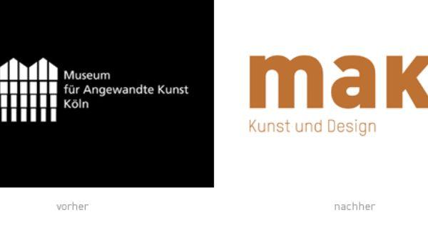 Museum Fur Angewandte Kunst Koln Makk Mit Neuem Logo Museum Logo Branding Museum