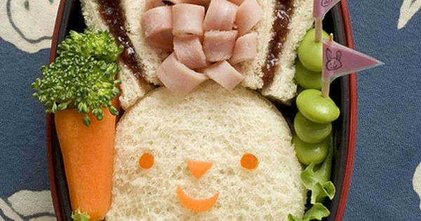 Easter Bunny Bento Lunch Box