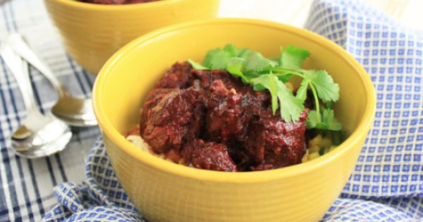 Pork Stew in Red Chile Sauce by Diana Kennedy | ~ Wonderful Mexican ...