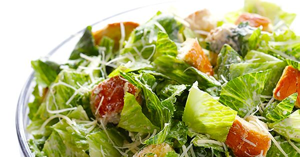 Caesar salad, Caesar salad recipes and Lighter on Pinterest