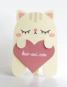 Gato Marcador De Paginas Passo A Passo Com Molde Bookmark Card Cat Birthday Card Diy Cards