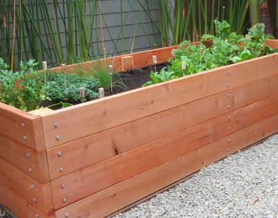 How To Build a Raised Planter Bed for Under $50 For Your