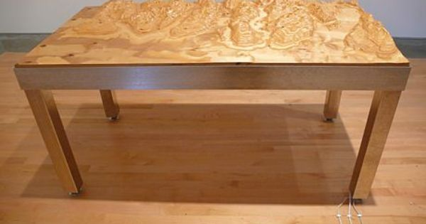Germaine Koh   Topographic Table | Topographic | Pinterest | Projects,  Tables And CNC