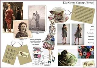 fashion mood board examples , Bing Images
