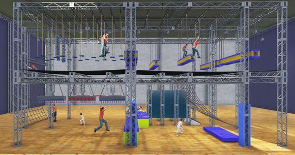Ninja warrior course designer manufacturer builder for Gym blueprints
