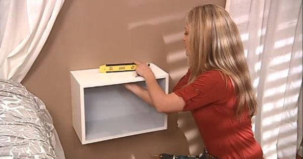 How To Video Create Your Own Floating Night Stands DIY