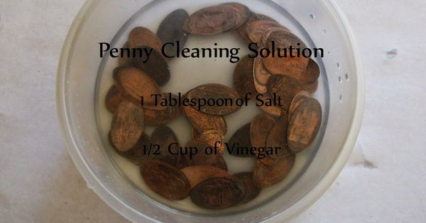 how to clean pressed pennies