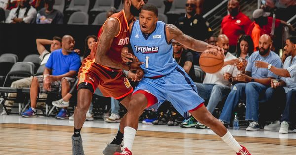 Ice Cube And The Big 3 Invaded Hotlanta On Sunday With Three Exciting Games That Featured Many Former Nba Superstars But Two Former Joe Johnson Atlanta Chris Johnson