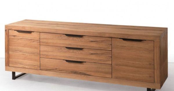 Legno Modern Solid Oak Sideboard 200cm Buffets