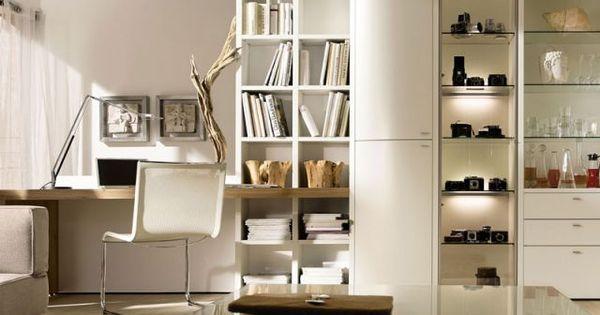 am nager un coin bureau dans son salon the office bureau et meubles. Black Bedroom Furniture Sets. Home Design Ideas