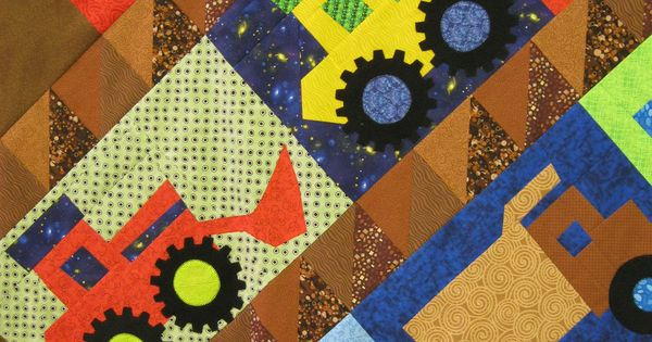 Free Quilt Patterns To Print Crazy Cats Animal Quilt