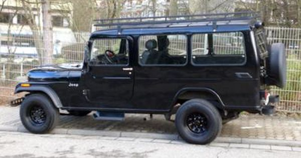 1989 Cj8 Overlander Rebody By Ssangyong Korando Jeep Willys