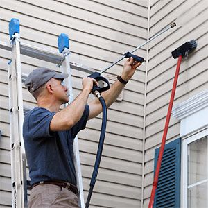 How To Pressure Wash Your House Popular Mechanics Pressure