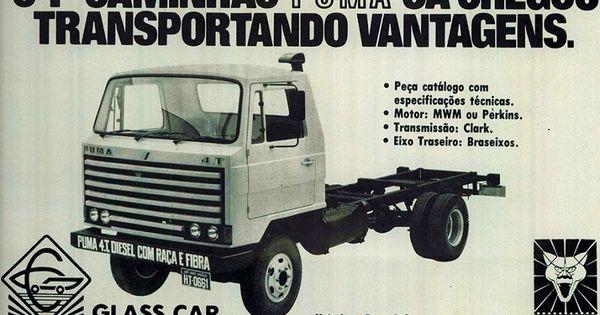 Esta E A Propaganda Antiga Do Caminhao Puma 4 T Diesel Que Marcou