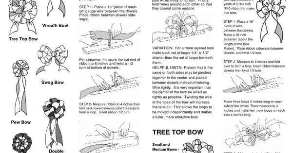 Ez Bow Maker Instruction Manual - WordPress.com